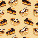 Sweets pattern Stock Photography