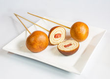 Sweets pendulum, Thai sweets food Royalty Free Stock Photos