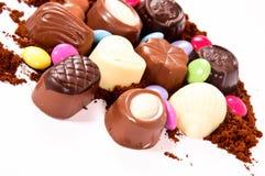 Sweets pralines Stock Image