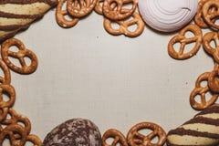 sweets ramowy Zdjęcia Stock