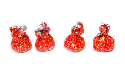 Sweets in red packing Royalty Free Stock Photo