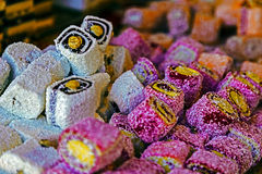 Sweets rolled Royalty Free Stock Images