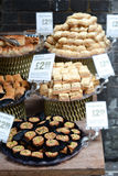 Sweets for sale in the market Royalty Free Stock Photography