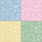 Sweets Seamless Pattern Royalty Free Stock Image