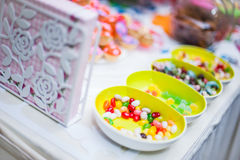 Sweets and Snacks Royalty Free Stock Photography