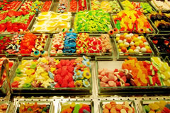 Sweets sold at the market Royalty Free Stock Photography