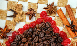 Sweets and Spices Stock Photography