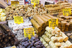 Sweets and spices Royalty Free Stock Photo