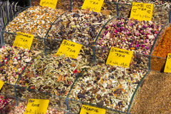 Sweets and spices Stock Image