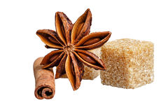 Sweets and spices Royalty Free Stock Photography