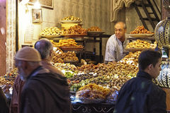 Sweets stall Royalty Free Stock Image