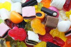 Sweets texture Stock Images