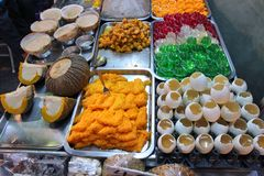 Sweets in Thailand Royalty Free Stock Images