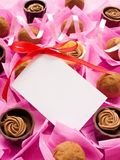 Sweets for Valentine's Day Royalty Free Stock Photography