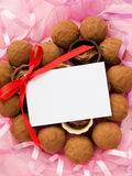 Sweets for Valentine's Day Stock Photography