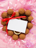 Sweets for Valentine's Day Royalty Free Stock Images