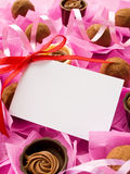 Sweets for Valentine's Day Royalty Free Stock Photos