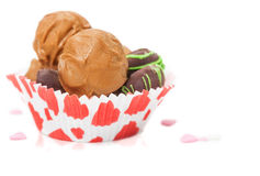 Sweets for Valentine's Day Royalty Free Stock Image