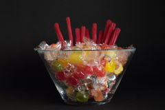 Sweets of various flavors Royalty Free Stock Photos