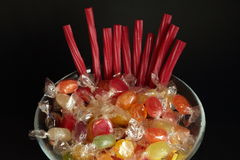 Sweets of various flavors Stock Photos