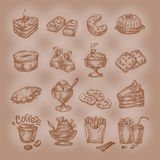 Sweets.Vector Format Royalty Free Stock Photo