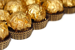 Sweets in wrapper isolated Stock Photo