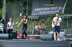 Sweetsen Fest 2014 Royalty-vrije Stock Afbeeldingen
