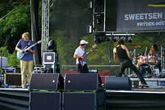 Sweetsen Fest 2014 Stock Images