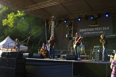 Sweetsen Fest 2014 Royalty Free Stock Image