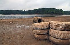 Sweetwater Nebenfluss-Parkdürre stockbilder