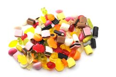 Sweety and candy Royalty Free Stock Photography