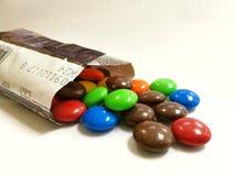 Sweety choco. Group of chocolate stock photo