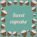 Sweety cupcakes Στοκ Εικόνες
