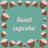 Sweety cupcakes Stock Images