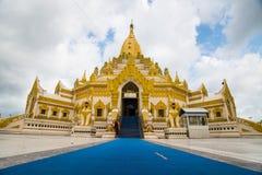 Swel Daw pagod, Yangon, Myanmar Fotografering för Bildbyråer