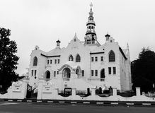 Swellendam南非主要教会  库存图片
