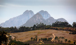 Swellendam Mountain Scenery Stock Photo