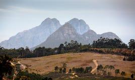 Swellendam Mountain Scenery Stock Photo