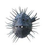 Swellfish del metal fotografía de archivo libre de regalías