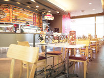 Swensen-` s Restaurant im Robinson Shopping-Mall Stockfotografie