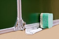 Swept on a school board Royalty Free Stock Photo