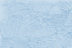 Swept wall. A blue swept wall texture Stock Photography