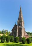 圣皮特圣徒・彼得` s教会West格洛斯特郡英国英国教务长Clearwell森林  免版税库存图片
