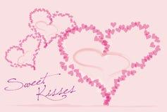 Swet kisses Royalty Free Stock Image
