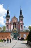Święta Lipka church. Poland. Sweta Lipka Święta Lipka  pilgrimage church - Our Dear Lady of Święta Lipka, a masterpiece of Baroque architecture Royalty Free Stock Photography