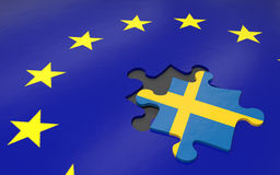 Swexit and EU Royalty Free Stock Images