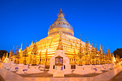 Swezigon Paya, Bagan, Myanmar. Royalty Free Stock Photography