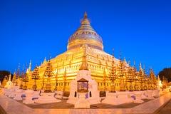 Swezigon Paya, Bagan, Myanmar. Royalty Free Stock Photography