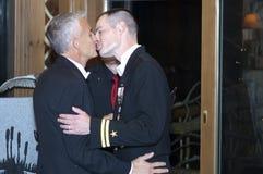 swezy 2 ślub Ross Vermont Zdjęcia Royalty Free