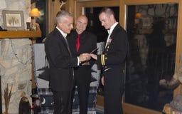 swezy vermont bröllop för 3 ross Arkivbild